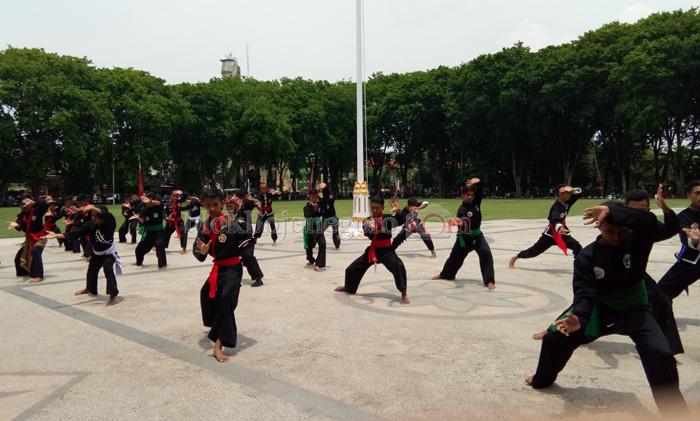 17 Perguruan Pencak Silat Ikuti Festival Jurus Harmoni