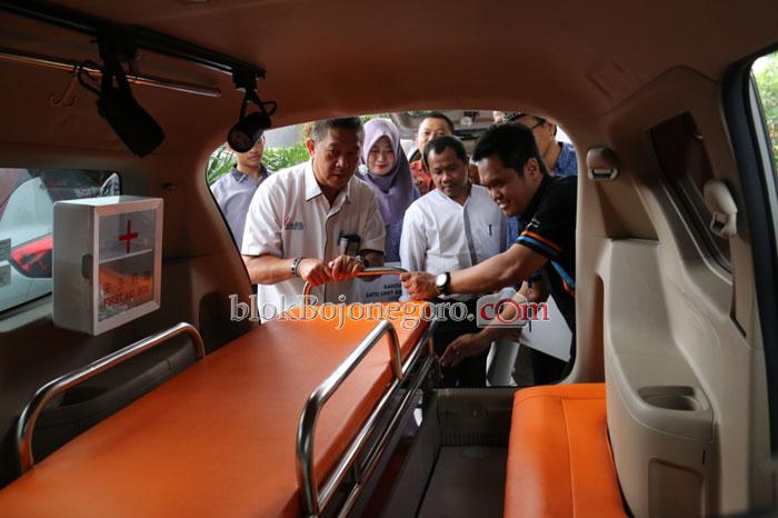 Cek Kelengkapan Mobil Siaga Desa