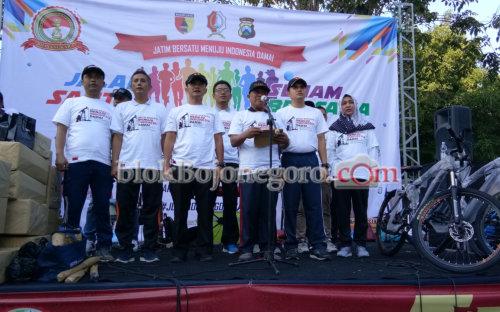 HUT Ke-73 Bhayangkara, Forkopimda Deklarasi Tolak Kerusuhan di CFD