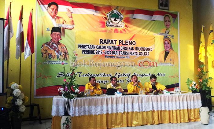 Golkar Sepakat Usulkan Mitro'atin Jadi Pimpinan DPRD
