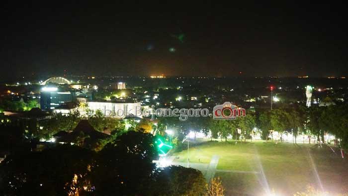 Indahnya Pemandangan Kota Bojonegoro Malam Hari