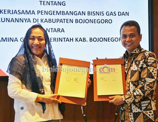 Kerjasama Pemkab Bojonegoro dengan Pertamina Gas