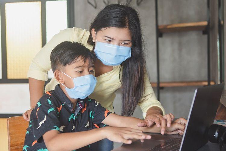 6 Cara Sederhana Mencegah Anak Stres karena PJJ