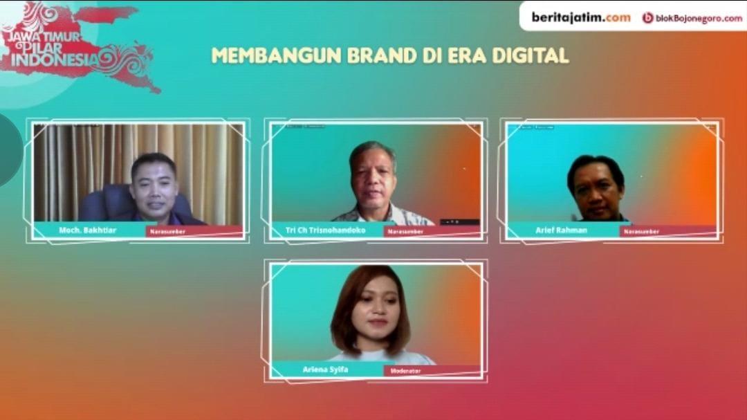 3 Narasumber Berbagi Tips Membangun Brand di Era Digital