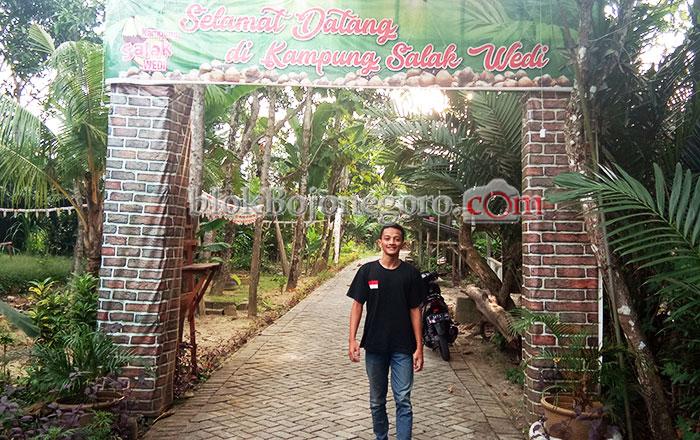 Mandek Pembangunan Wisata Kebun Salak Butuh Perhatian Pemerintah