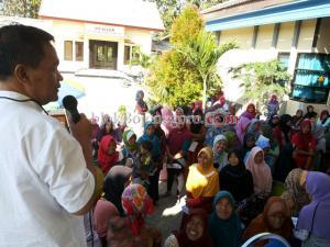 Kuswiyanto Pantau Bantuan Non Tunai PKH di Ngasem