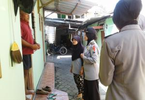 Perketat Keamanan, Polres Operasi Rumah Kos