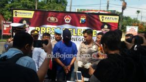 Polres Bojonegoro Amankan Pelaku Pemalsuan STNK