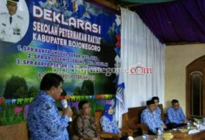 Sukses, Warga Sekar Deklarasi Sekolah Peternak Rakyat
