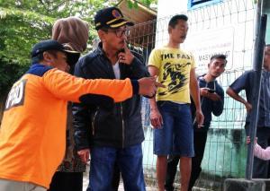 Baru Dilantik, PJ Bupati Bojonegoro Disambut Banjir