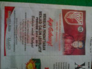 Iklan di Media, Panwaskab Bojonegoro Semprit PKPI