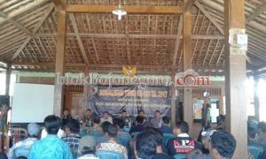 Kodim 0813 Sosialisasi TMMD Ke-100 di Margomulyo