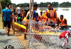 Sambut Banjir, Pramuka Brigade Penolong 13.22 Gelar Diklatsar ke-3