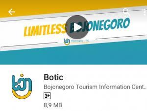 Botic. Aplikasi Wisata Bojonegoro