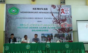 BEM IAI Sunan Giri Gelar Seminar Peduli AIDS