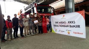 Bojonegoro Banjir, SKK Migas dan KKKS Turun Tangan