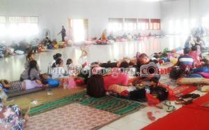 Turun Siaga II, Warga Masih Mengungsi