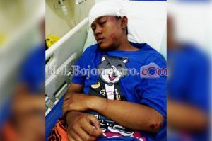 Terluka, 1 Suporter Persibo Masuk RS
