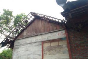 Hujan Angin, Belasan Rumah di Gondang Rusak