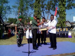 PSNU Pagar Nusa Temayang Gelar Apel Bela Negara