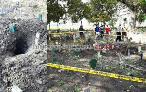 Gempar...! Kuburan di Trucuk Dilubangi Orang