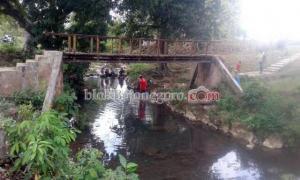 Masih Gratis, Area Sungai Dander Waterpark Banyak Pengunjung
