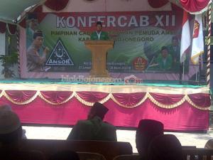 PC Ansor Bojonegoro Gelar Konfercab XII