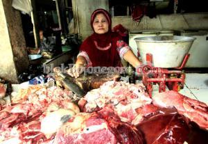 Jelang Ramadan, Harga Daging Terpantau Stabil