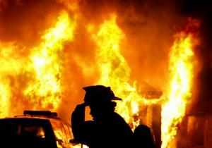 Gudang Kayu di Ngasem Ludes Terbakar