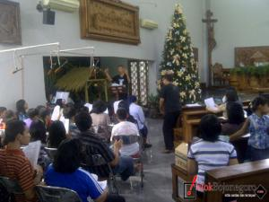 Jelang Malam Kudus, Gereja Katolik St Paulus Bersiap