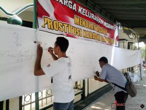 Tolak Prostitusi Pondok Pinang, Warga Galang Tanda Tangan