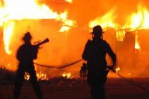 Korsleting, Dua Rumah Warga Kepohbaru Ludes Terbakar