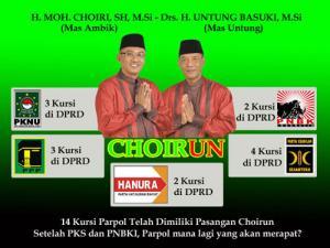 Setelah PKS, Choirun Deal dengan PNBKI