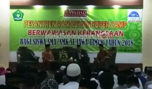 26 Siswa SMA/SMK Bojonegoro Ikuti Pesantren Ramadan Camp