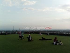Nikmati Pemandangan Kota dari Rooftop Pemkab