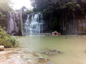 Pusat Gempa di Air Terjun Bongok Montong?