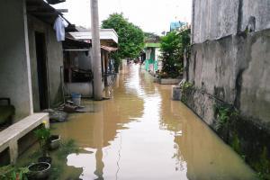 Bengawan Meluap, Ledok Wetan Lagi-lagi Kebanjiran