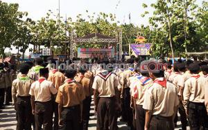 Asisten II Buka Kemah Bhakti Madrasah Se-Bojonegoro