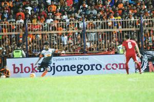 10 Menit, Persibo Unggul 2-0 atas Persekabpas