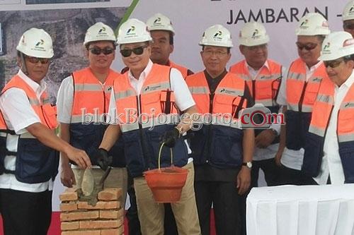 Menteri ESDM Letakkan Batu Pertama J-TB