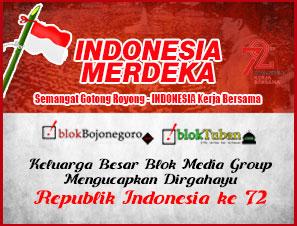 Dirgahayu Republik Indonesia Ke-72