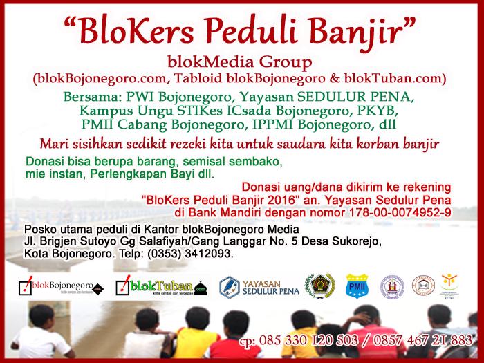 Ayo Gabung...! BloKers Peduli Banjir 2016