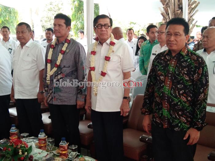 Dua Menteri Kunjungi Bojonegoro