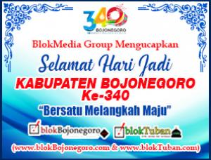 Selamat Hari Jadi Kabupaten Bojonegoro Ke-340