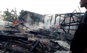 Rumah di Kedungbondo Terbakar