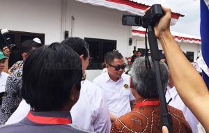 Menteri ESDM Saat Datang ke Lapangan Gas J-TB