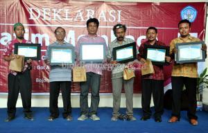 Anugerah Penulis dan Inspirasi Literasi