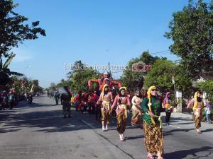 Ogoh-ogoh di Jalanan Ngraho-Ngawi