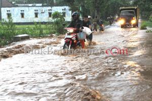 Jalur Bojonegoro-Nganjuk Kebanjiran