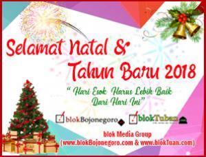 Selamat Natal dan Tahun Baru 2018